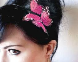 butterfly for hair butterfly accessory etsy