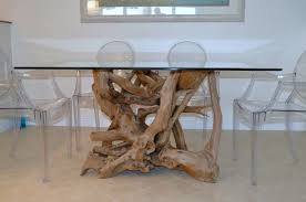 custom dining room tables driftwood decor custom driftwood furniture