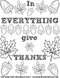 free printable thanksgiving coloring pages money saving