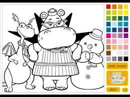 free doc mcstuffins coloring pages kids