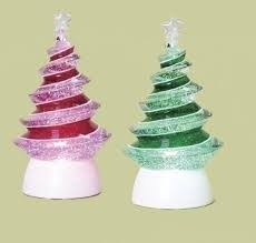 the aisle led lighted color changing swirl tree