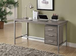 Reclaimed Office Furniture by Amazon Com Monarch Reclaimed Look Silver Metal Office Desk 60