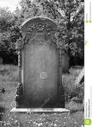 design your own headstone blank headstone stock image image of artist broken 32025695