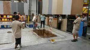 1 day epoxy flooring and cabinet installation workshop