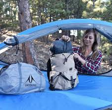 lightweight outdoor camping tree tent triangle hanging hammock