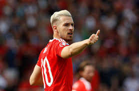 from nasri to messi every footballer who u0027s dyed their hair blonde