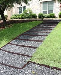 a kailo chic life landscape it diy black rock stairs