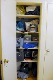 Linen Closet Rented Inspiration Our Organized Linen Closet