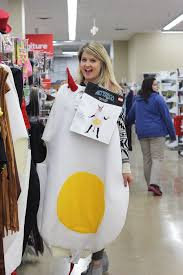 Egg Halloween Costume Halloween Thrift Store Haul Frugal Beautiful