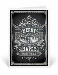 merry christmas chalkboard holiday card 36671 ministry