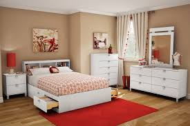 Bed With Headboard And Drawers White Wooden Queen Storage Bed With Bookcase Headboard And Drawers