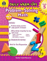 5th grade math problem solving daily warm ups problem solving math grade 5 tcr3579