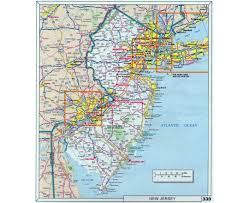 City And State Map Of Usa by Maps Of New Jersey State Collection Of Detailed Maps Of New