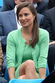 pippa middleton keeps things cool in mint green knitted dress and