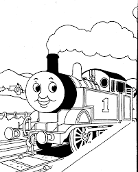 thomas the train color pages printable pages 8103