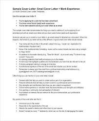 awesome email cover letter for job application samples 67 with