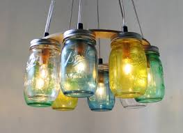 Beach Glass Chandelier Glass Jar Pendant Light Astonishing Glass Jug Pendant Light 36 On