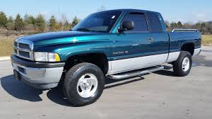 Dodge Ram Truck Bed Used - sold 1999 dodge ram 1500 slt laramie quad cab 4x4 5 9 magnum v8