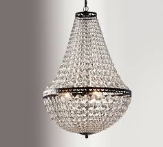 Christal Chandelier Faceted Chandelier Pottery Barn