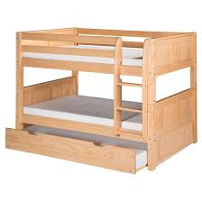 Bunk Bed Headboard Camaflexi Low Bunk Bed With Trundle Panel