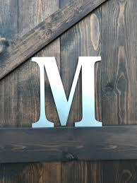 12 metal letters u0026 numbers large monogram rustic number rusted