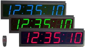 Digital Atomic Desk Clock Led Digital Clock Master Slave Clock Digital Timer Multi Zone