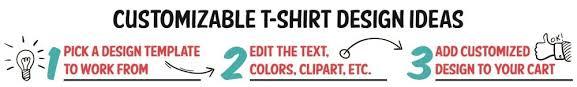 t shirt design idea templates screen printing
