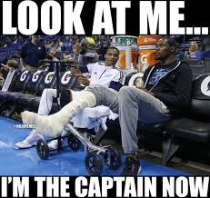 Recent Memes - russell westbrook after kevin durant s recent surgery thun