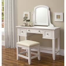 bedroom white bedroom vanity table with lighted mirror and girly