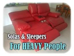 Sleeper Chairs And Sofas Oversized Sleeper Chairs Sofas For Heavy For Big And