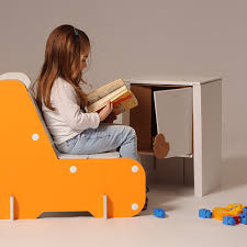 Armchair For Kids Alice Is A Corrugated Cardboard Armchair For Kids With Simple And