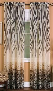 Zebra Print Curtain Panels Animal Print Curtains Duvet Cover Set In An Animal Print Theme