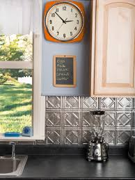 tin backsplash for kitchen ts tin tile backsplash kitchen s rend hgtvcom surripui net