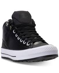 converse men u0027s chuck taylor all star street mid leather casual