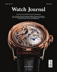 watch journal march 2015 by watch journal issuu
