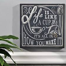 Retro Chalkboards For Kitchen by Shabby Retro Life Is Like Cup Of Tea From Amazon Things I Want