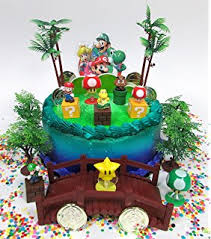 mario birthday cake mario brothers 23 birthday cake topper set