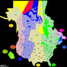 Map Missouri Time Zone Lines Usa Us Time Zone Map Missouri Ustimezone Thempfa