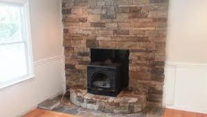 Fireplace Refacing Kits by Diy Fireplace Refacing Stone Make An Easy Fireplace Refacing