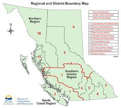 map of bc regional and district office map