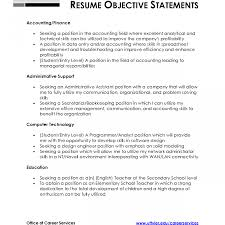 resume sle for ojt accounting students objective for taxg resume summary assistant sle ojt students