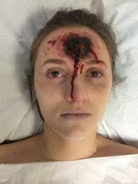 death bed u0027 scene gun shot wound close up my sfx work sfx