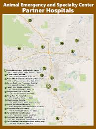 Reno Map Animal Emergency Center Pet Emergency Vet Reno Sparks Truckee