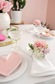 how to set a table with napkin rings flower napkin ring diy a beautiful mess