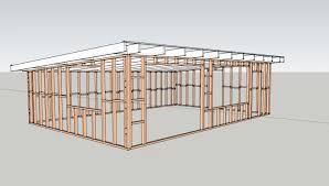 modern shed roof timber frame houses on modern flat roof home plans