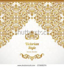 Border Designs For Birthday Cards Vector Set Golden Vignettes Borders Design Stock Vector 461138263