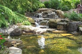 appealing of backyard waterfalls and ponds ideas in the small
