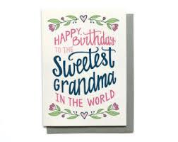 grandma birthday etsy