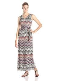 chevron maxi dress not your s nydj women s charlene aztec chevron maxi