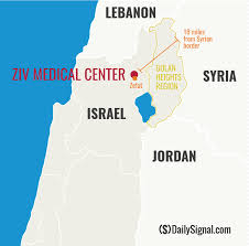 Syria On A Map by Low Profile Israeli Hospitals Tend To Syria U0027s Wounded